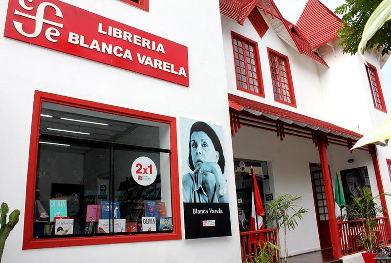 Librería Blanca Varela Lima