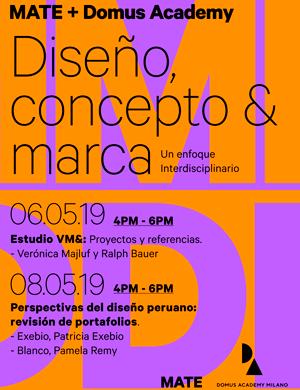 Diseño, concepto & marca. Un enfoque interdisciplinario