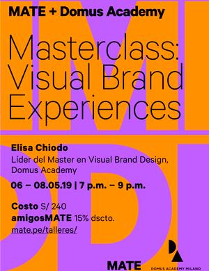 Masterclass Visual Brand Experiences