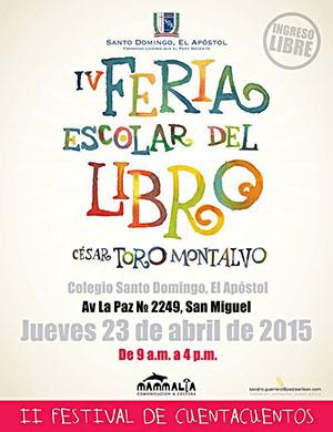 IV Feria Escolar del Libro En-Lima-Agenda-Cultural